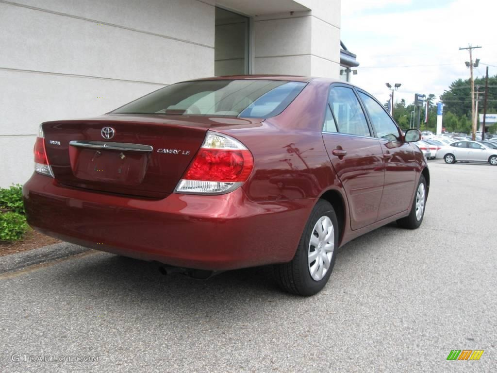2006 salsa red pearl toyota camry le 16030111 photo 3 car color galleries. Black Bedroom Furniture Sets. Home Design Ideas