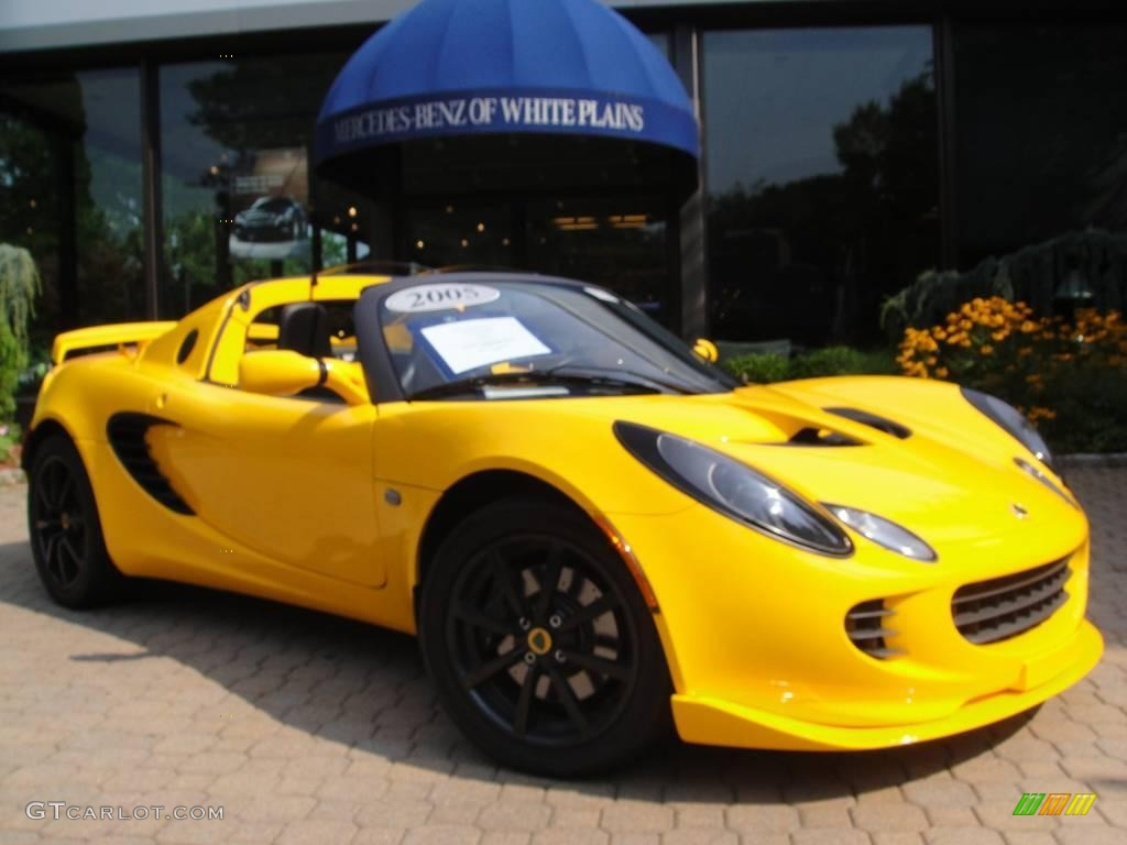 yellow lotus elise cars - photo #17