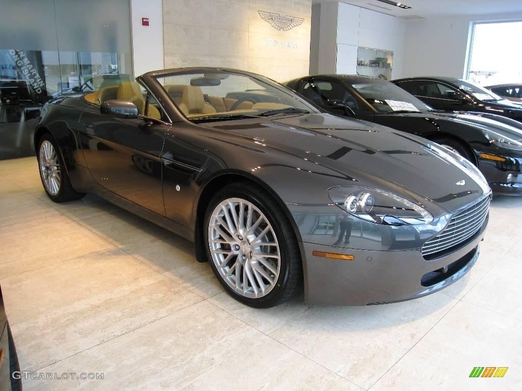 2009 Meteorite Silver Aston Martin V8 Vantage Roadster