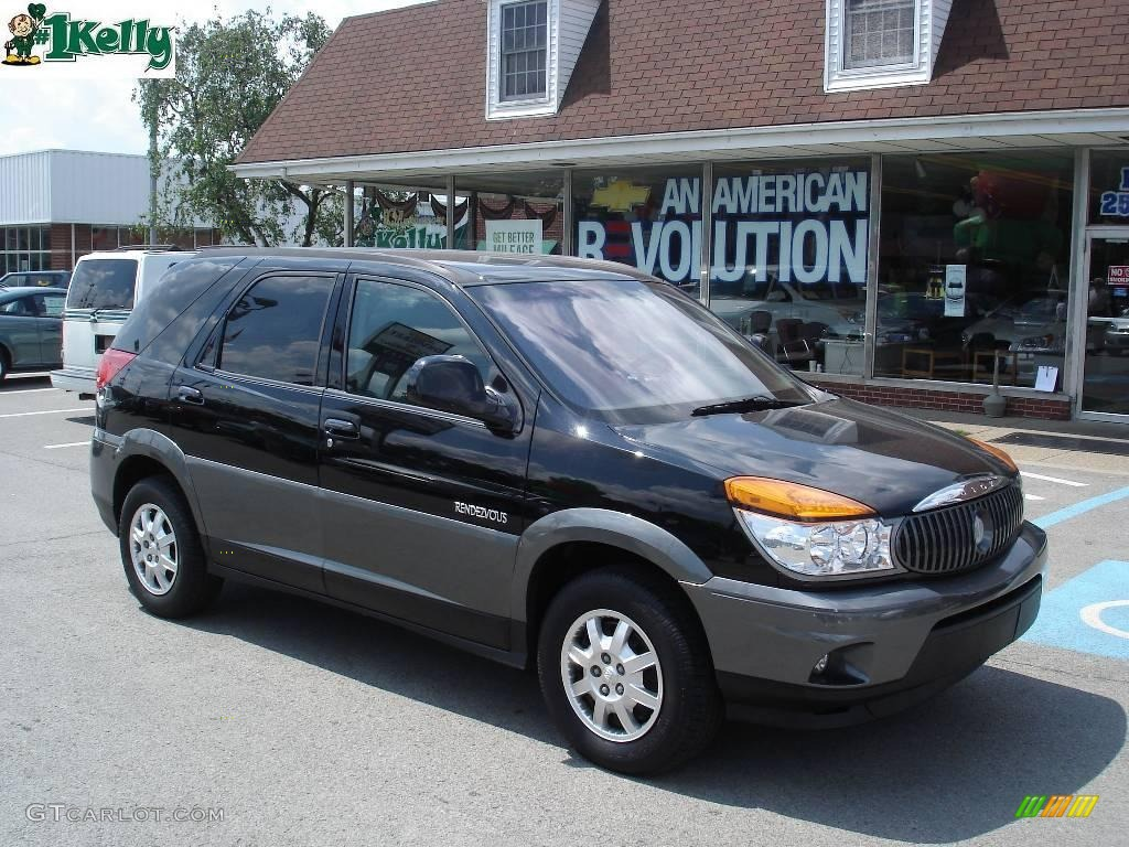 2002 black buick rendezvous cx 16132151. Black Bedroom Furniture Sets. Home Design Ideas