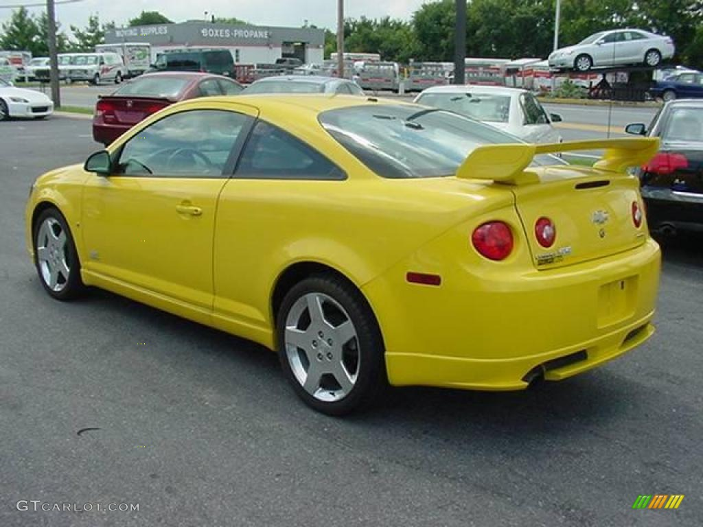 Rally Yellow 2006 Chevrolet Cobalt Ss Supercharged Coupe