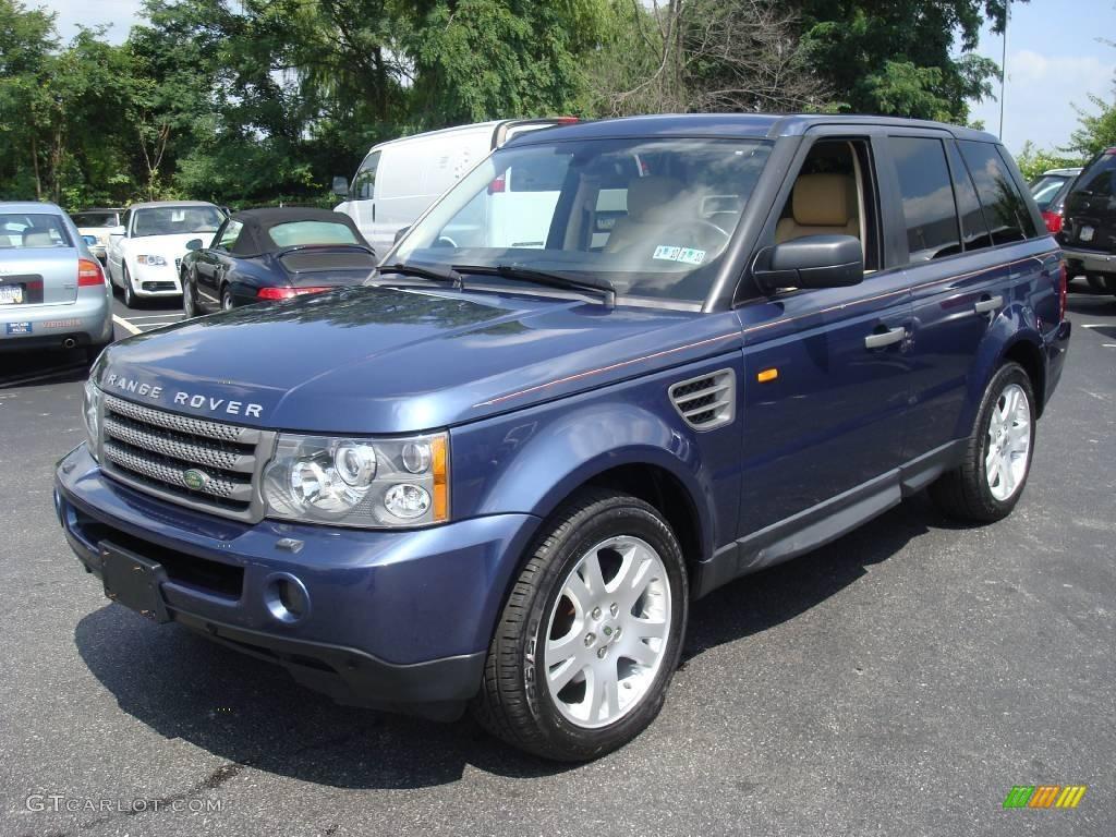 2006 cairns blue metallic land rover range rover sport hse 16093749 car color. Black Bedroom Furniture Sets. Home Design Ideas