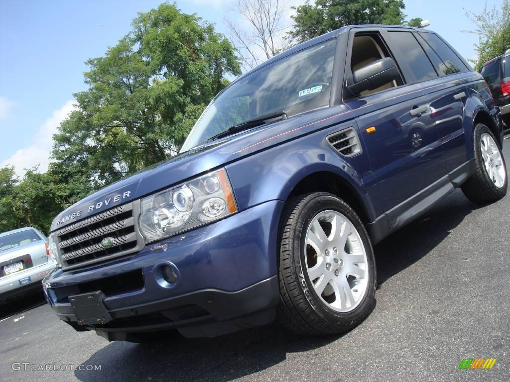 2006 cairns blue metallic land rover range rover sport hse. Black Bedroom Furniture Sets. Home Design Ideas