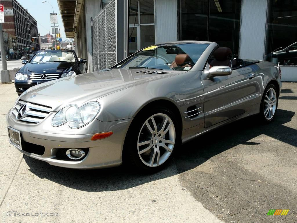 2007 pewter metallic mercedes benz sl 550 roadster for Mercedes benz sl roadster