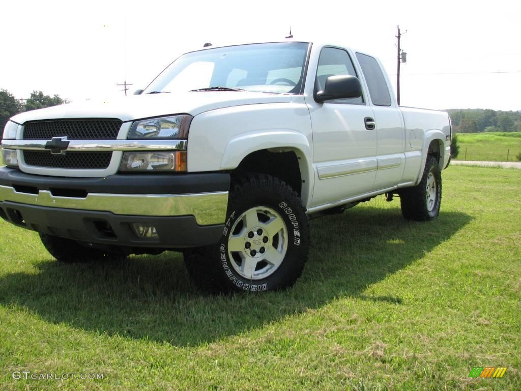 2004 summit white chevrolet silverado 1500 z71 extended cab 4x4 16132219 photo 7 gtcarlot. Black Bedroom Furniture Sets. Home Design Ideas