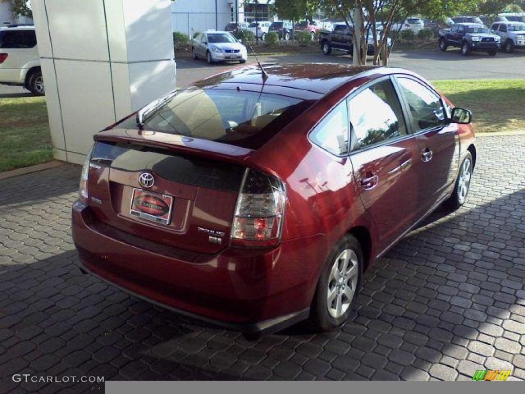 2005 salsa red pearl toyota prius hybrid 16111442 photo 3 car color galleries. Black Bedroom Furniture Sets. Home Design Ideas