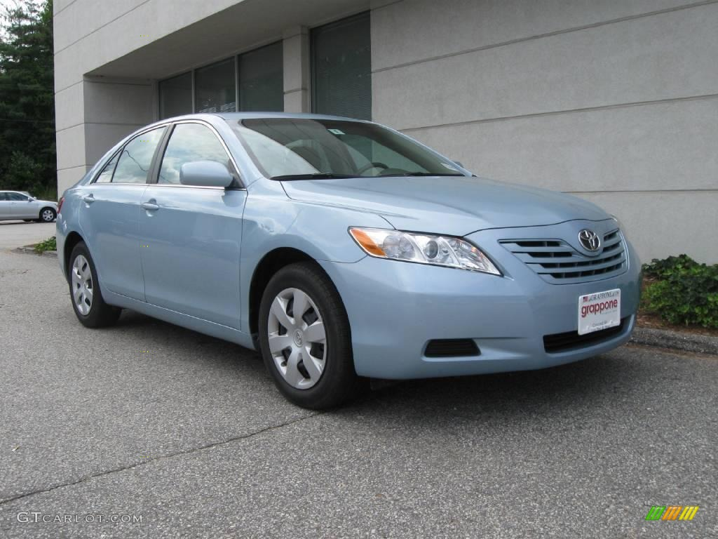 2008 sky blue pearl toyota camry le 16108273 car color galleries. Black Bedroom Furniture Sets. Home Design Ideas