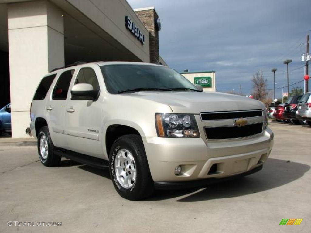 2007 Tahoe LT - Gold Mist Metallic / Light Cashmere/Ebony photo #1