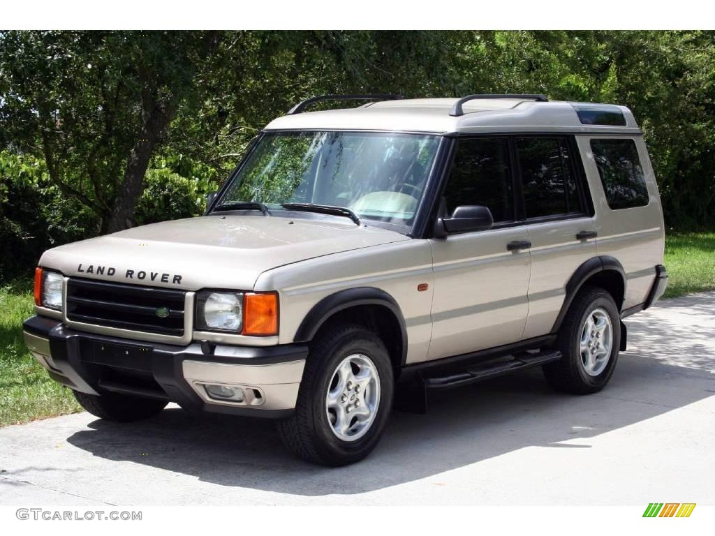 2000 white gold land rover discovery ii 16105553 car color galleries. Black Bedroom Furniture Sets. Home Design Ideas