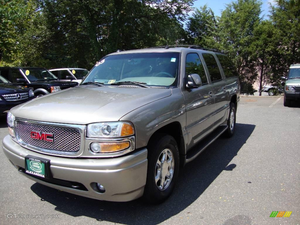 2003 pewter metallic gmc yukon xl denali awd 16229606. Black Bedroom Furniture Sets. Home Design Ideas