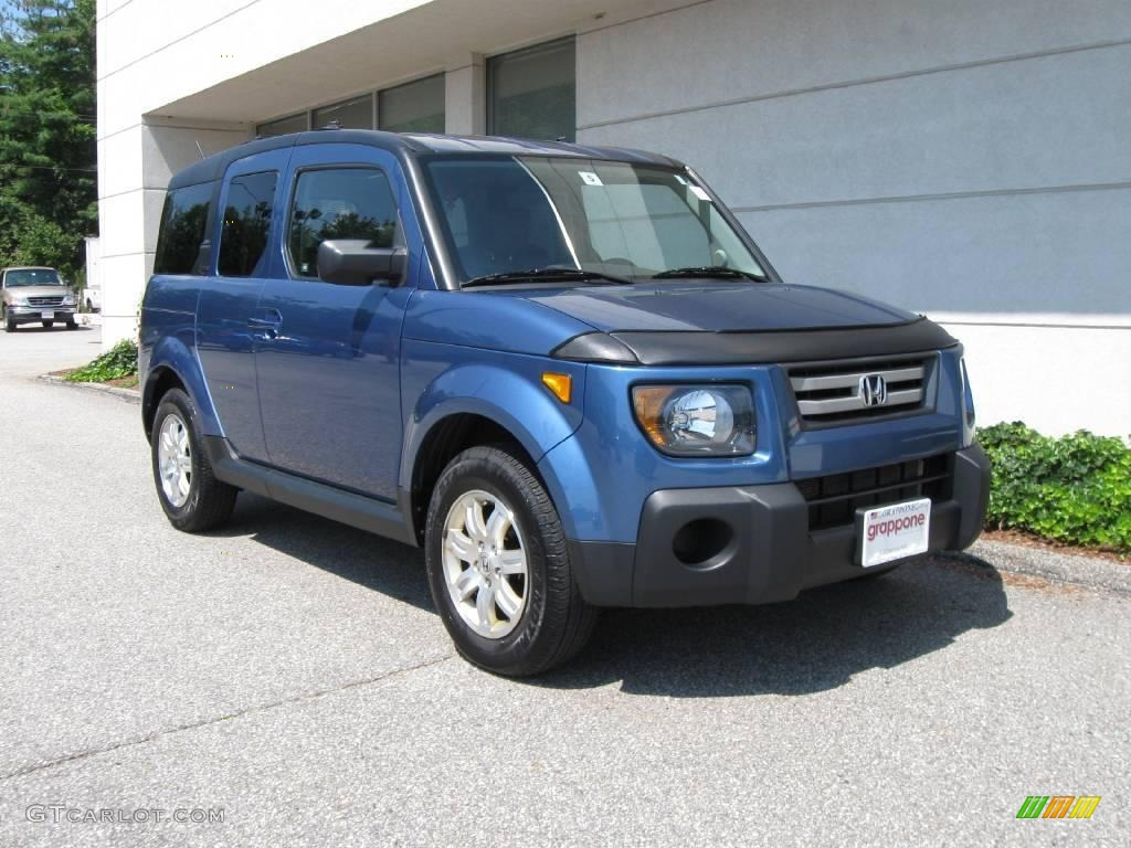 2007 atomic blue metallic honda element ex awd 16225581. Black Bedroom Furniture Sets. Home Design Ideas