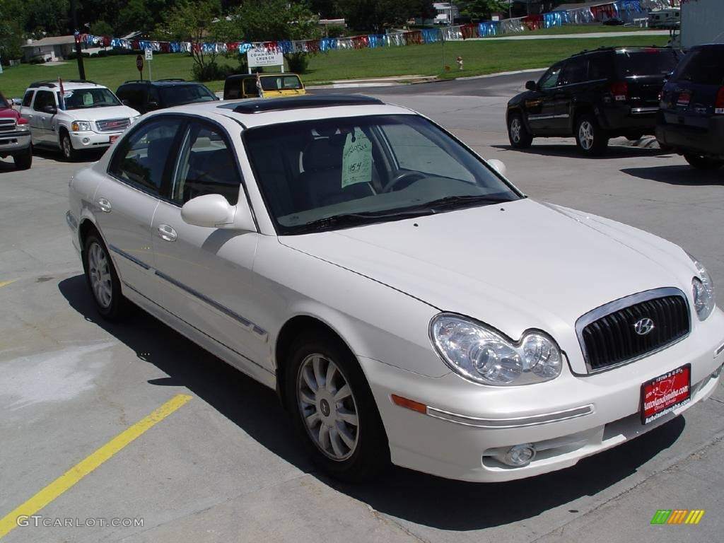 2002 white pearl hyundai sonata lx v6 16224611 photo 4 gtcarlot com car color galleries gtcarlot com