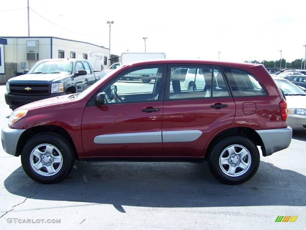 2005 salsa red pearl toyota rav4 4wd 16226488 gtcarlot. Black Bedroom Furniture Sets. Home Design Ideas