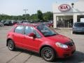 Vivid Red - SX4 SWT Crossover AWD Photo No. 1