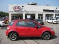 Vivid Red - SX4 SWT Crossover AWD Photo No. 2