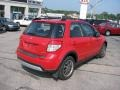 Vivid Red - SX4 SWT Crossover AWD Photo No. 4
