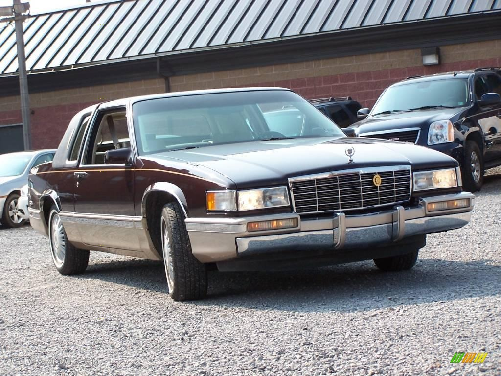 1992 rootbeer metallic cadillac deville coupe 16221560. Black Bedroom Furniture Sets. Home Design Ideas