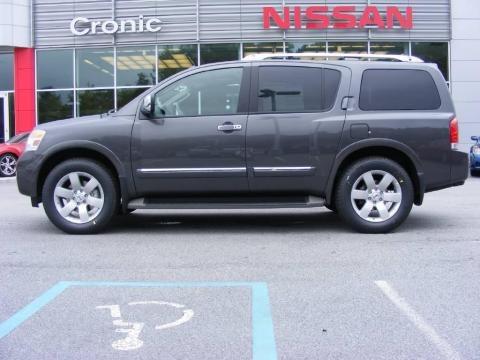 2010 Nissan Armada Interior. 2010 Smoke Gray Metallic