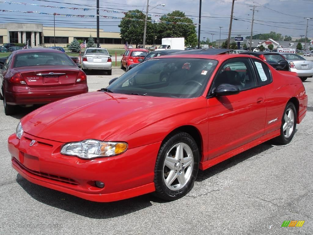 2005 victory red chevrolet monte carlo supercharged ss 16275347 car color. Black Bedroom Furniture Sets. Home Design Ideas