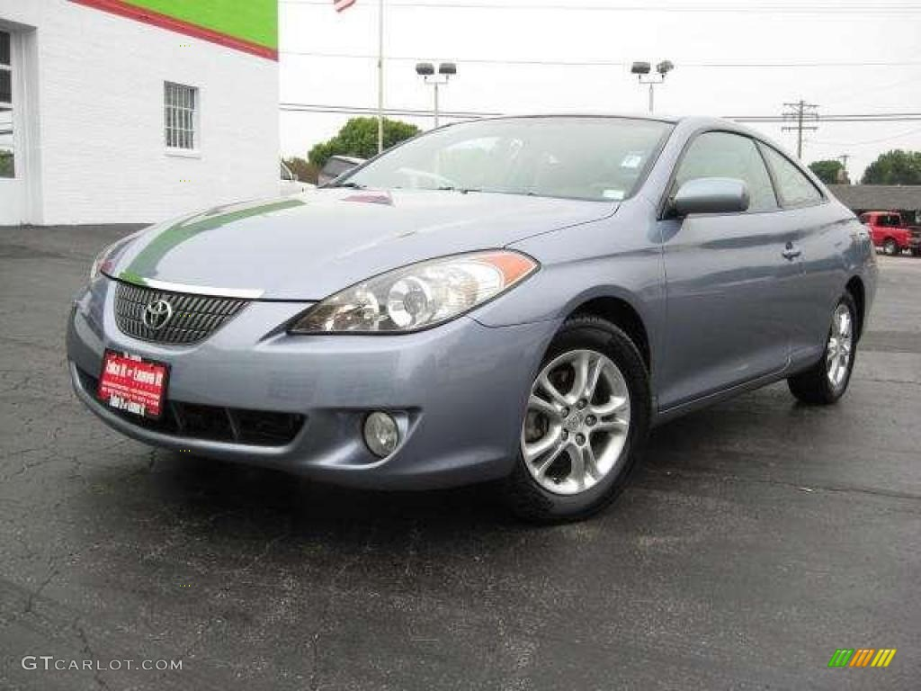 2005 cosmic blue metallic toyota solara se v6 coupe. Black Bedroom Furniture Sets. Home Design Ideas