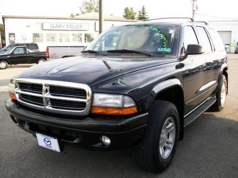 Dodge Durango 2003 Black. 2003 Black Dodge Durango SLT