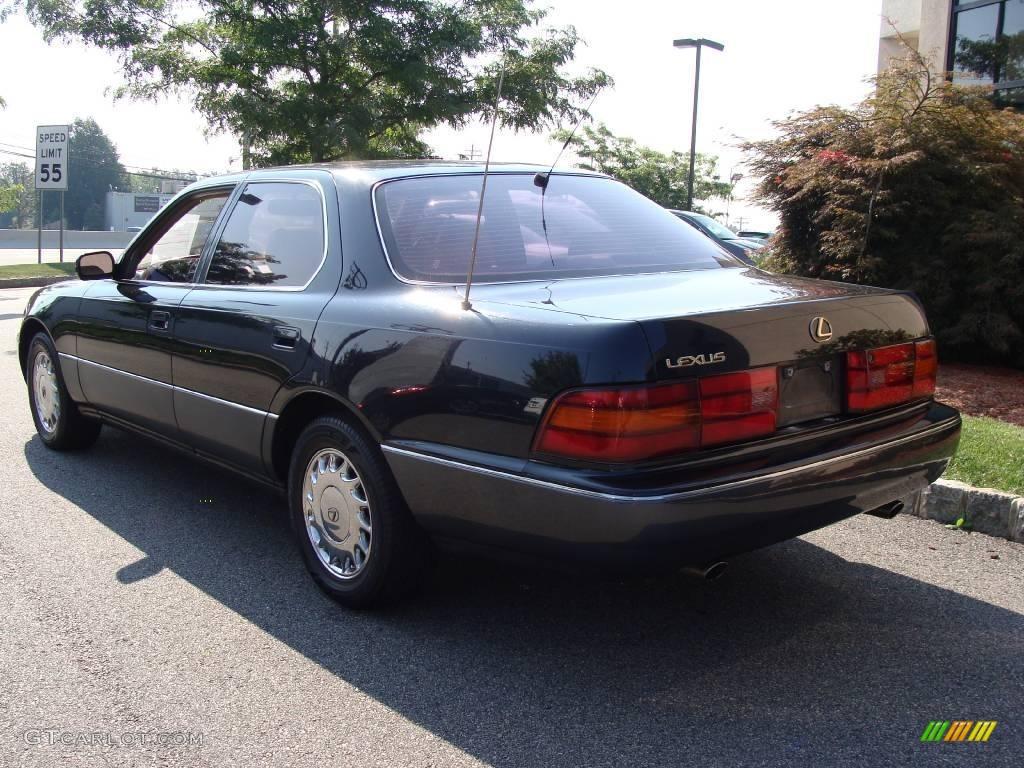 1991 black jade pearl metallic lexus ls 400 16274201 photo 5 car color galleries. Black Bedroom Furniture Sets. Home Design Ideas