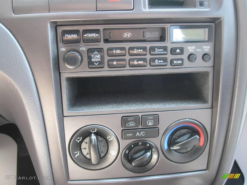 2002 Silver Pewter Hyundai Elantra Gls Sedan 16274465