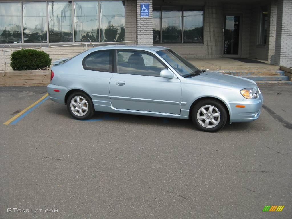 2005 glacier blue hyundai accent gt coupe 16274285. Black Bedroom Furniture Sets. Home Design Ideas