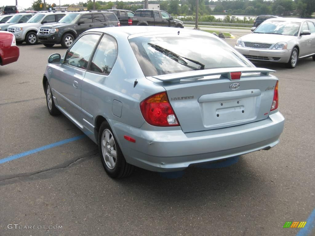 2005 glacier blue hyundai accent gt coupe 16274285 photo. Black Bedroom Furniture Sets. Home Design Ideas