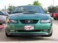 2000 Electric Green Metallic Ford Mustang GT Coupe  photo #2