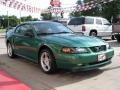 2000 Electric Green Metallic Ford Mustang GT Coupe  photo #4