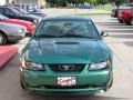 2000 Electric Green Metallic Ford Mustang GT Coupe  photo #15