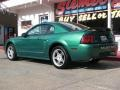 2000 Electric Green Metallic Ford Mustang GT Coupe  photo #16