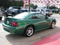 2000 Electric Green Metallic Ford Mustang GT Coupe  photo #18