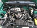 2000 Electric Green Metallic Ford Mustang GT Coupe  photo #20