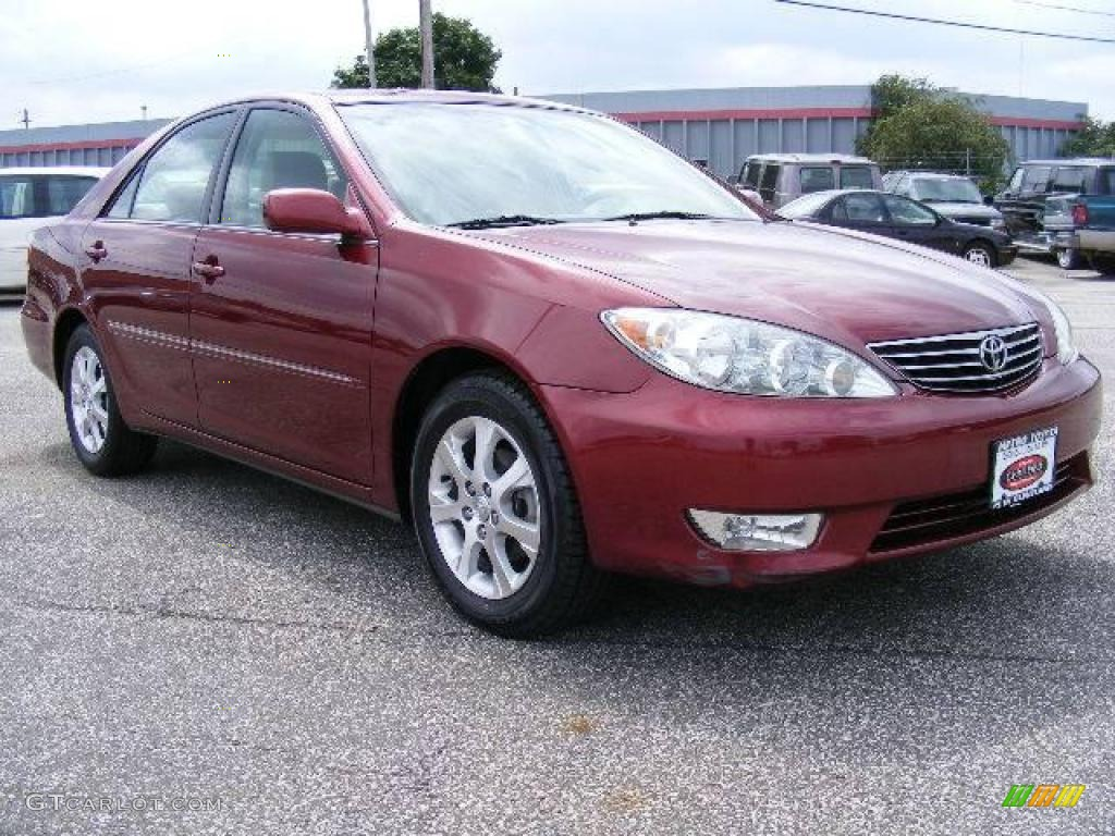 2006 salsa red pearl toyota camry xle 16261340 car color galleries. Black Bedroom Furniture Sets. Home Design Ideas