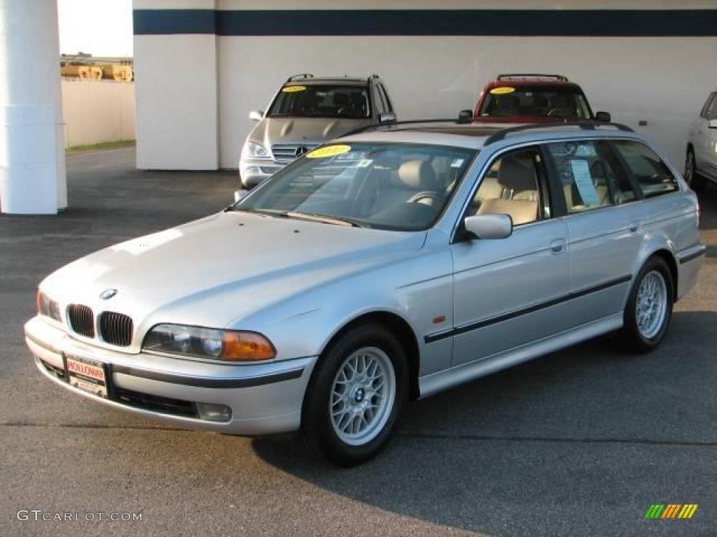 2000 Titanium Silver Metallic Bmw 5 Series 528i Wagon 16330321