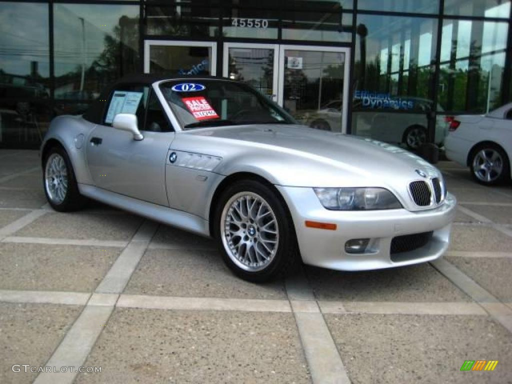 2002 Titanium Silver Metallic Bmw Z3 3 0i Roadster 16327123 Photo 14 Gtcarlot Com Car