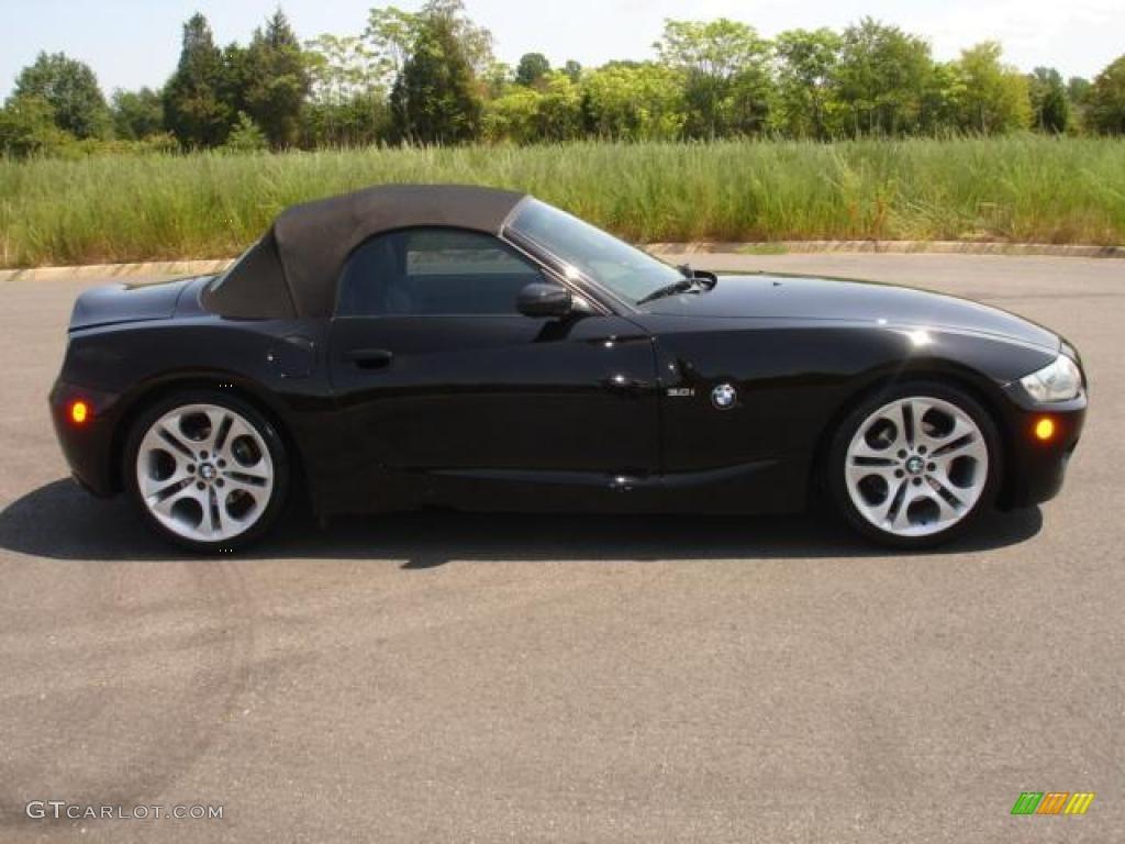 2005 Black Sapphire Metallic Bmw Z4 3 0i Roadster