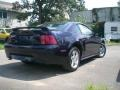 2003 True Blue Metallic Ford Mustang V6 Coupe  photo #7