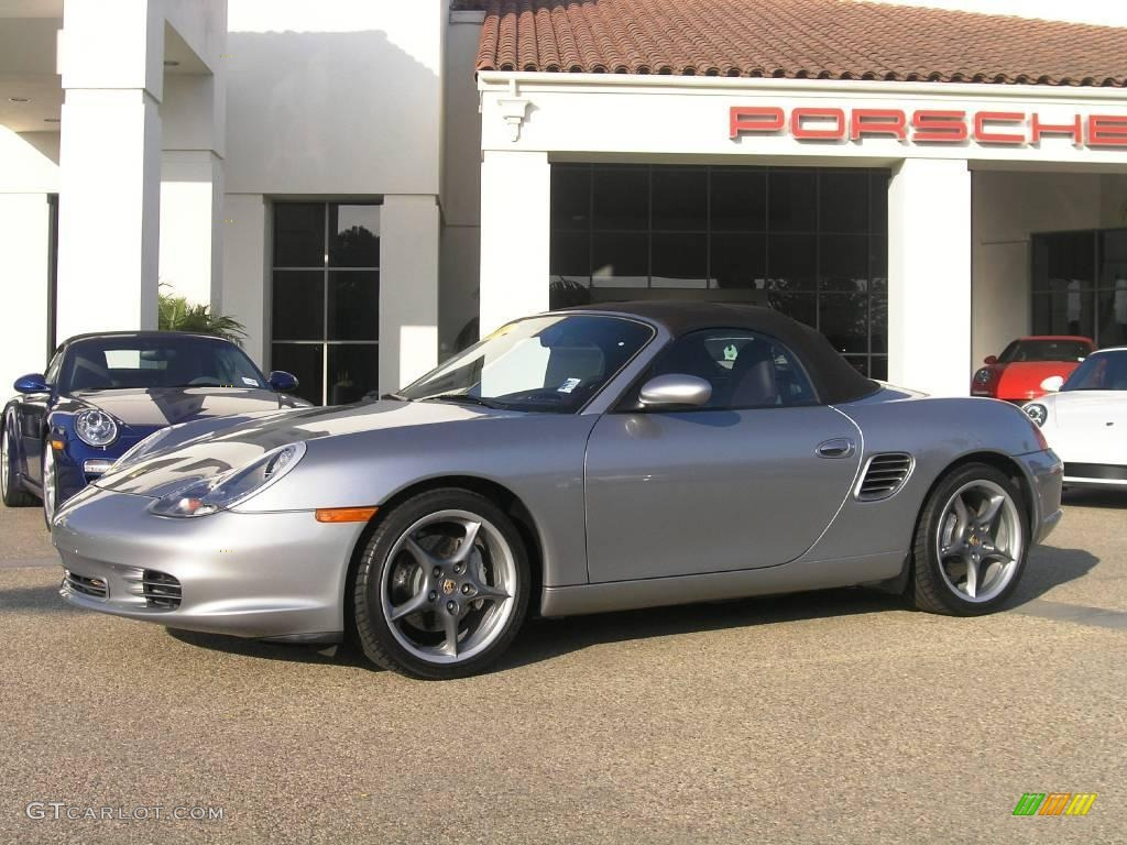 2004 gt silver metallic porsche boxster s 550 spyder. Black Bedroom Furniture Sets. Home Design Ideas