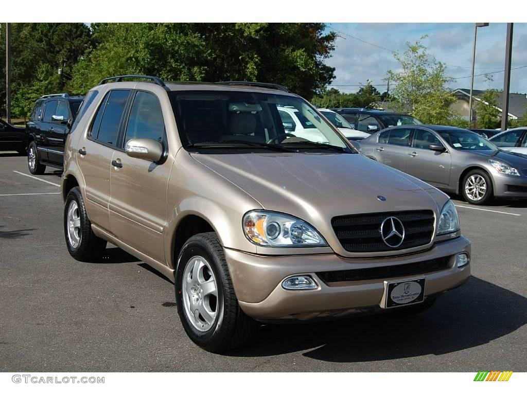 2004 desert silver metallic mercedes benz ml 350 4matic for Mercedes benz silver