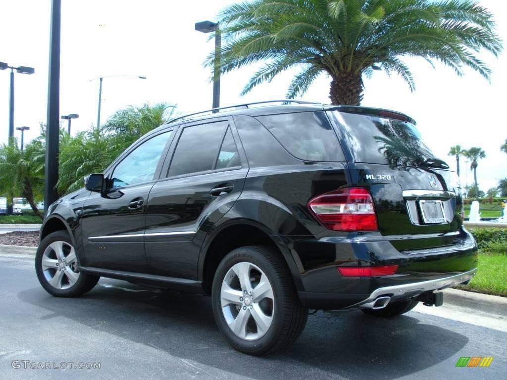 2009 black mercedes benz ml 320 bluetec 4matic 16319264 for 2009 mercedes benz ml320 bluetec