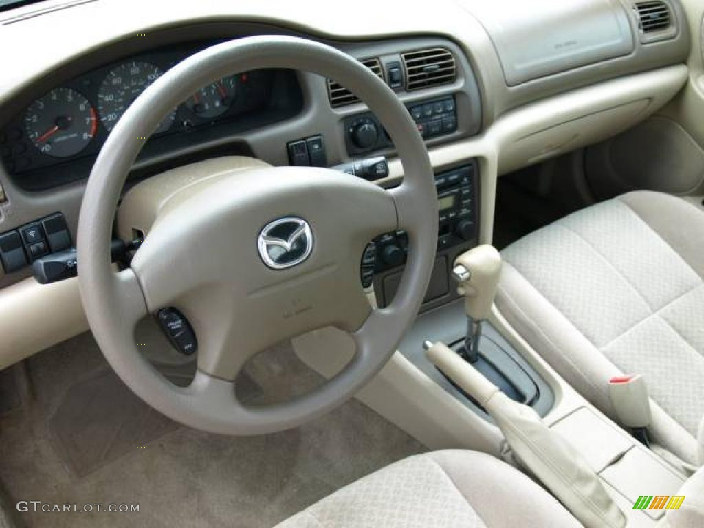 2001 Chestnut Metallic Mazda 626 Lx 16330378 Photo 8 Gtcarlot 2002 White Beige