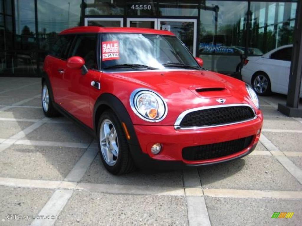 2008 chili red mini cooper s clubman 16327106 car color galleries. Black Bedroom Furniture Sets. Home Design Ideas
