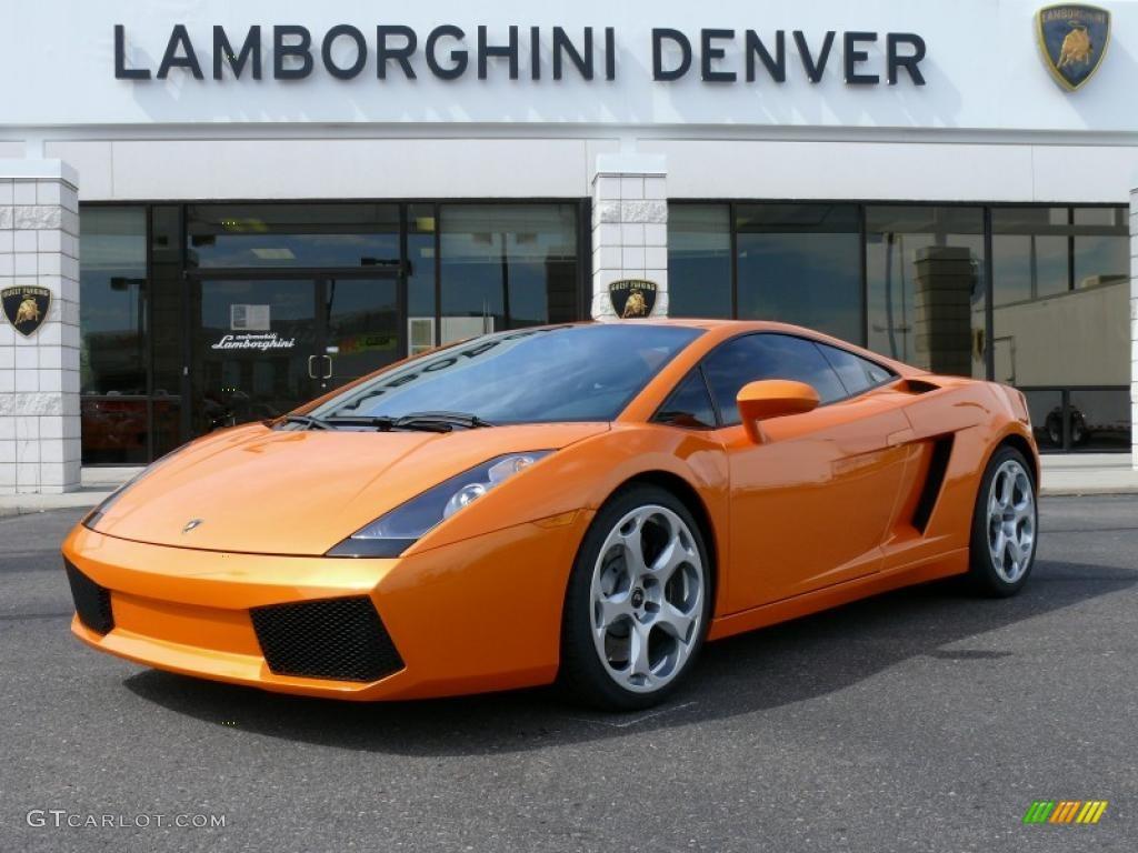 2005 tri-orange lamborghini gallardo coupe #16315439 | gtcarlot