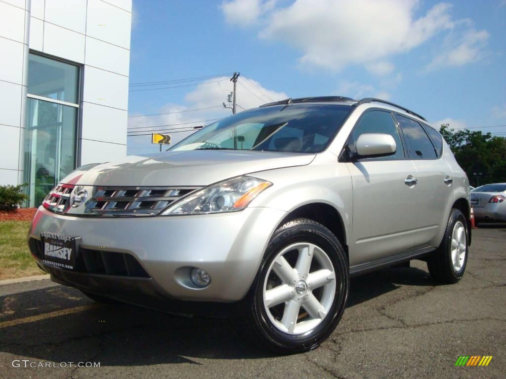 2005 sheer silver metallic nissan murano se awd 16330413. Black Bedroom Furniture Sets. Home Design Ideas