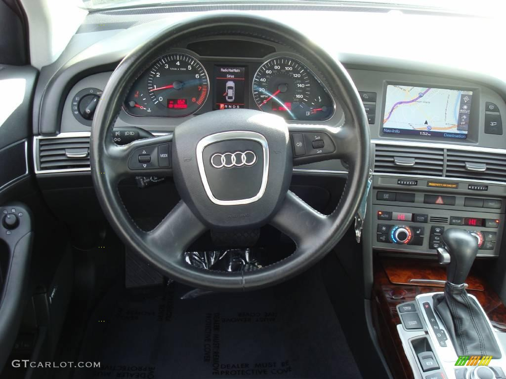 2006 atlas grey metallic audi a6 3 2 quattro sedan. Black Bedroom Furniture Sets. Home Design Ideas