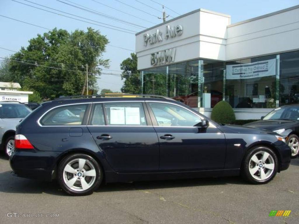 2007 monaco blue metallic bmw 5 series 530xi sport wagon 16377622 photo 19. Black Bedroom Furniture Sets. Home Design Ideas