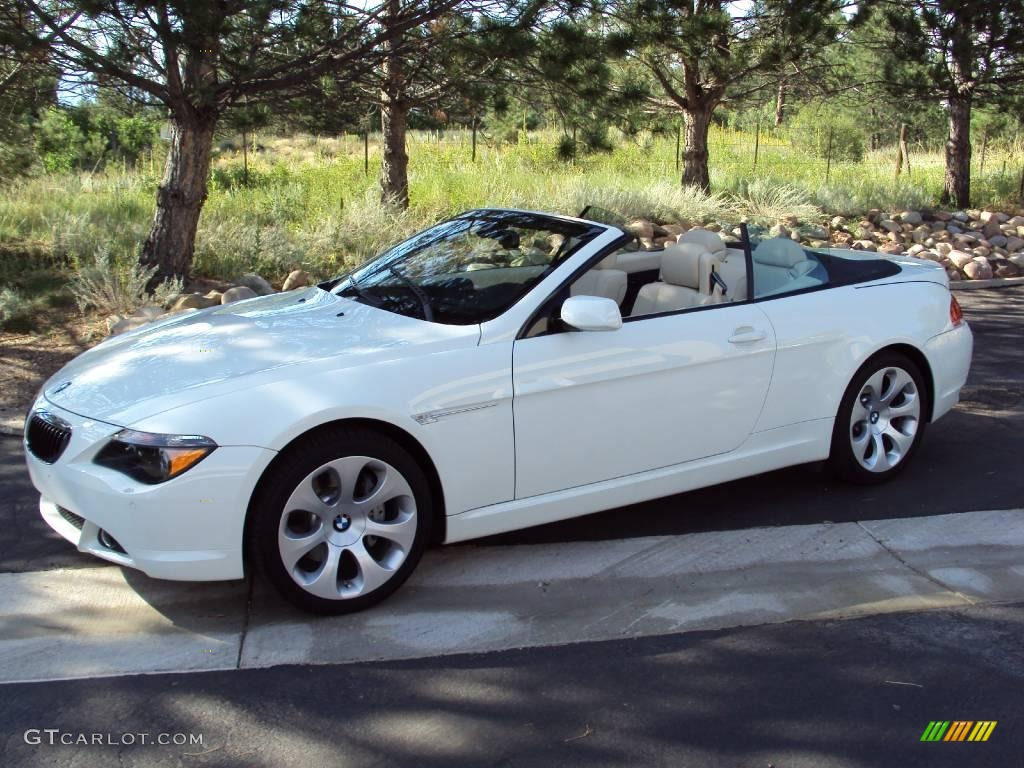 2007 alpine white bmw 6 series 650i convertible 16391879 car color galleries. Black Bedroom Furniture Sets. Home Design Ideas